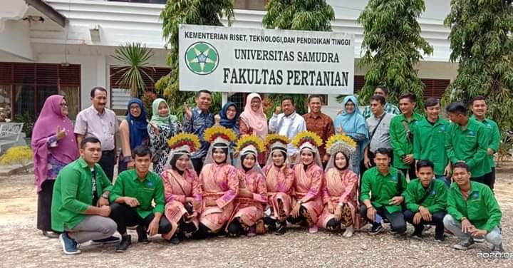 Fieldtrip Fakultas Pertanian Universitas Samudra, Langsa Aceh 2020