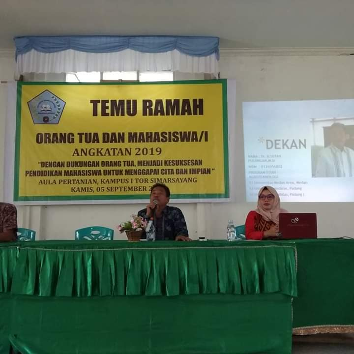 Temu Ramah Bersama Orang Tua dan Calon Mahasiswa Fakultas Pertanian 2019