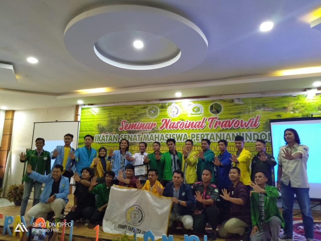 PERWAKILAN BEM FP DALAM SEMINAR NASIONAL TRAVOWIL IKATAN SENAT MAHASISWA SE INDONESIA DI UNIVERSITAS PASIR PANGARAIAN 2020
